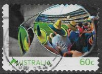 Australia 2011 Life in Australia 60c type 3 self adhesive good/fine used